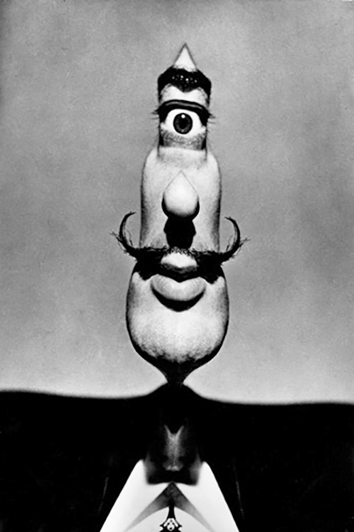 Salvador Dali Portraits by Phillipe Halsman — 1953
