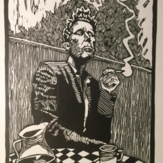 Tom Waits Illustrated by Penyo Ivanov 2016