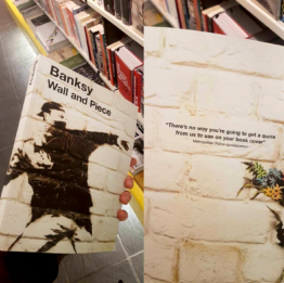 Quote Back Cover Banksy's Book