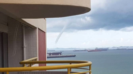 Singapore large water spout