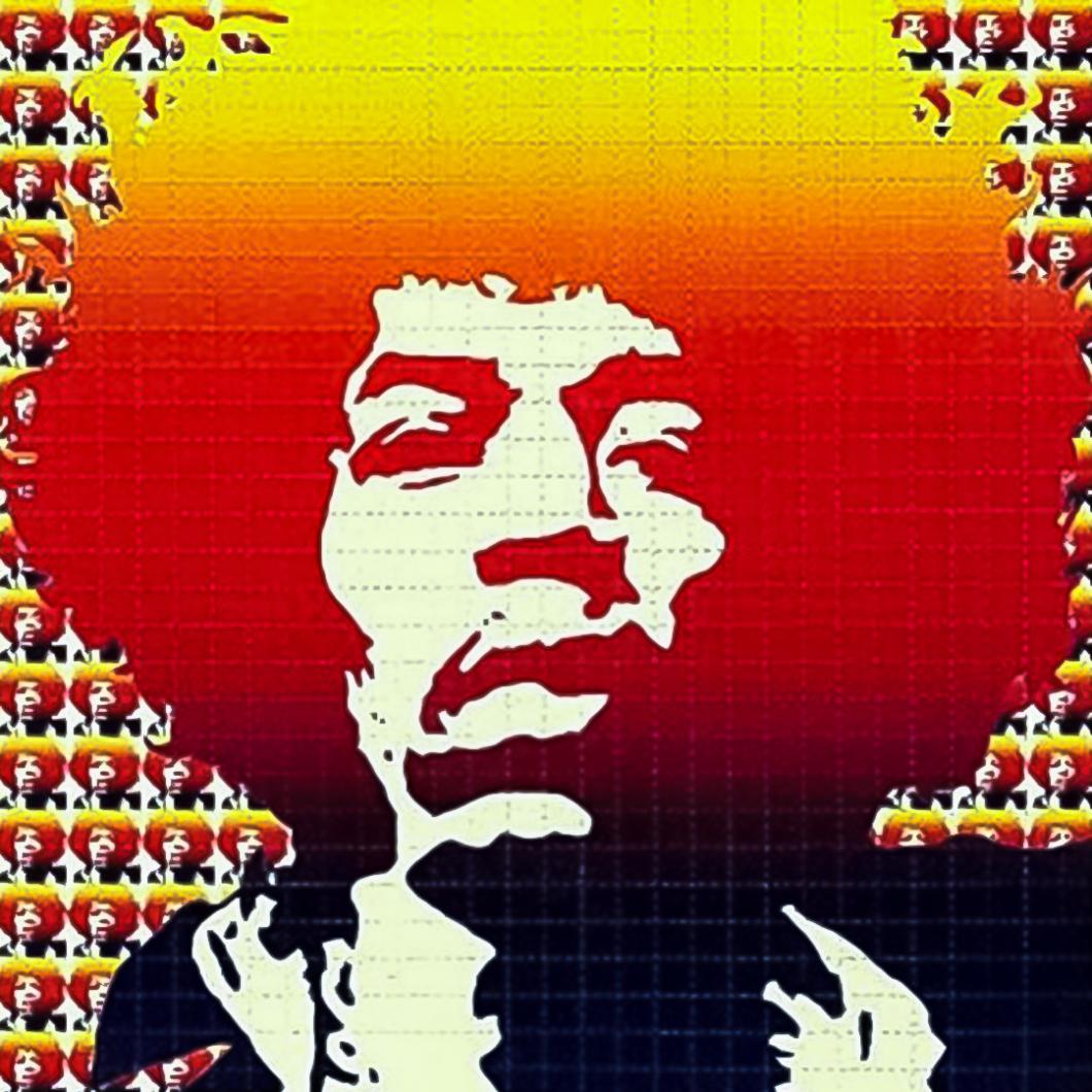 The LSD Blotter – Daily Dose Of Tab Acid Art 01 Hendrix