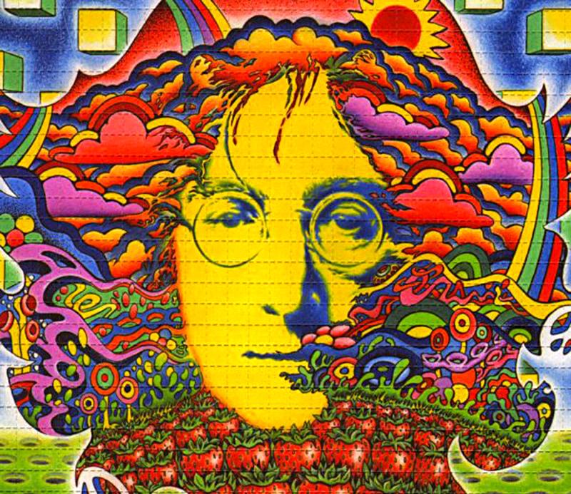 The LSD Blotter – Daily Dose Of Tab Acid Art 04
