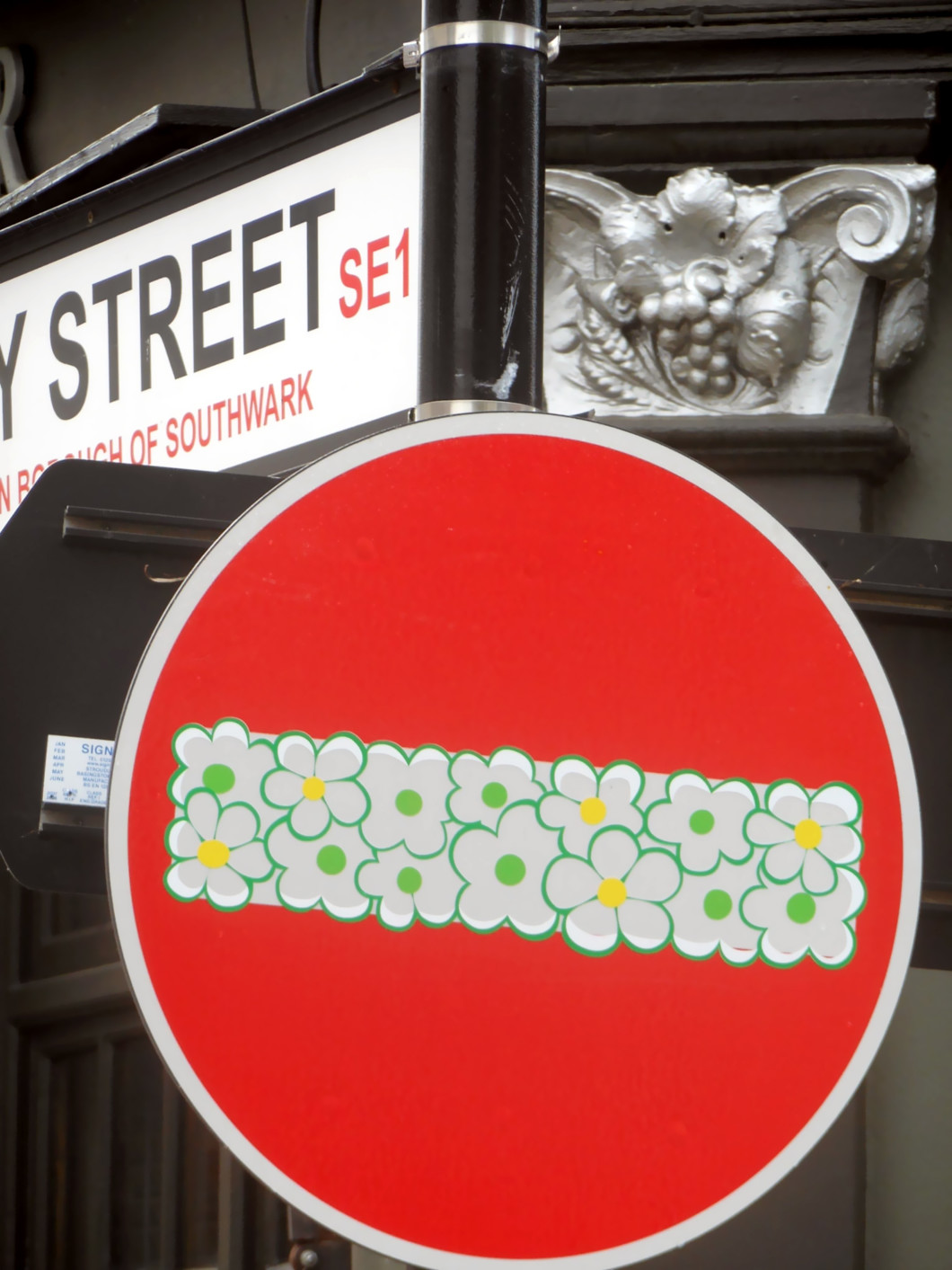 Clet Abraham Doctored Street Signs ~ A Random Collection