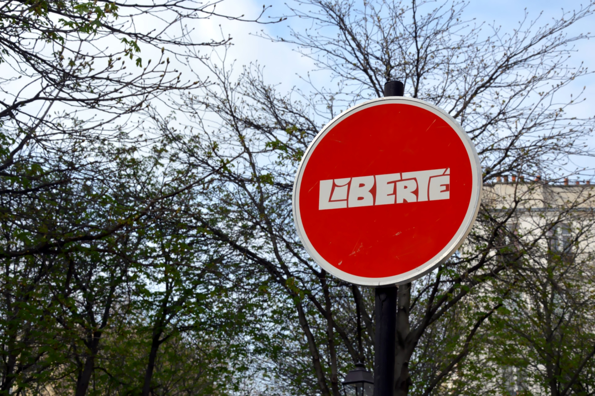 Clet Abraham's Doctored Street Signs ~ A Random Collection