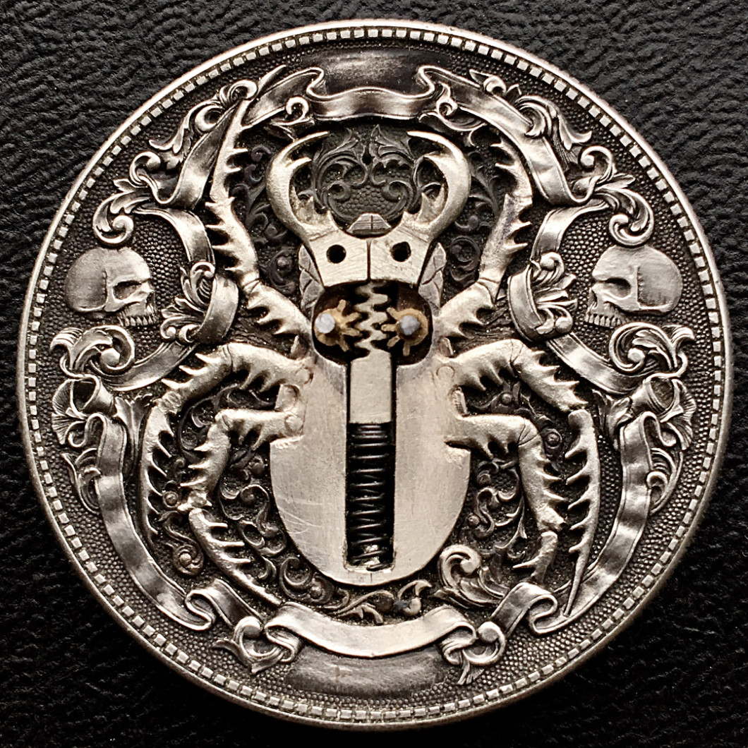 Hand Engraved Coins by Roman Booteen