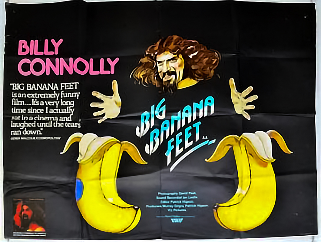 Billy Connelly Poster for Big Banana Feet