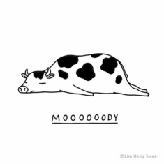 Funny 'Moody Animals' Doodle Series From Lim Heng Swee