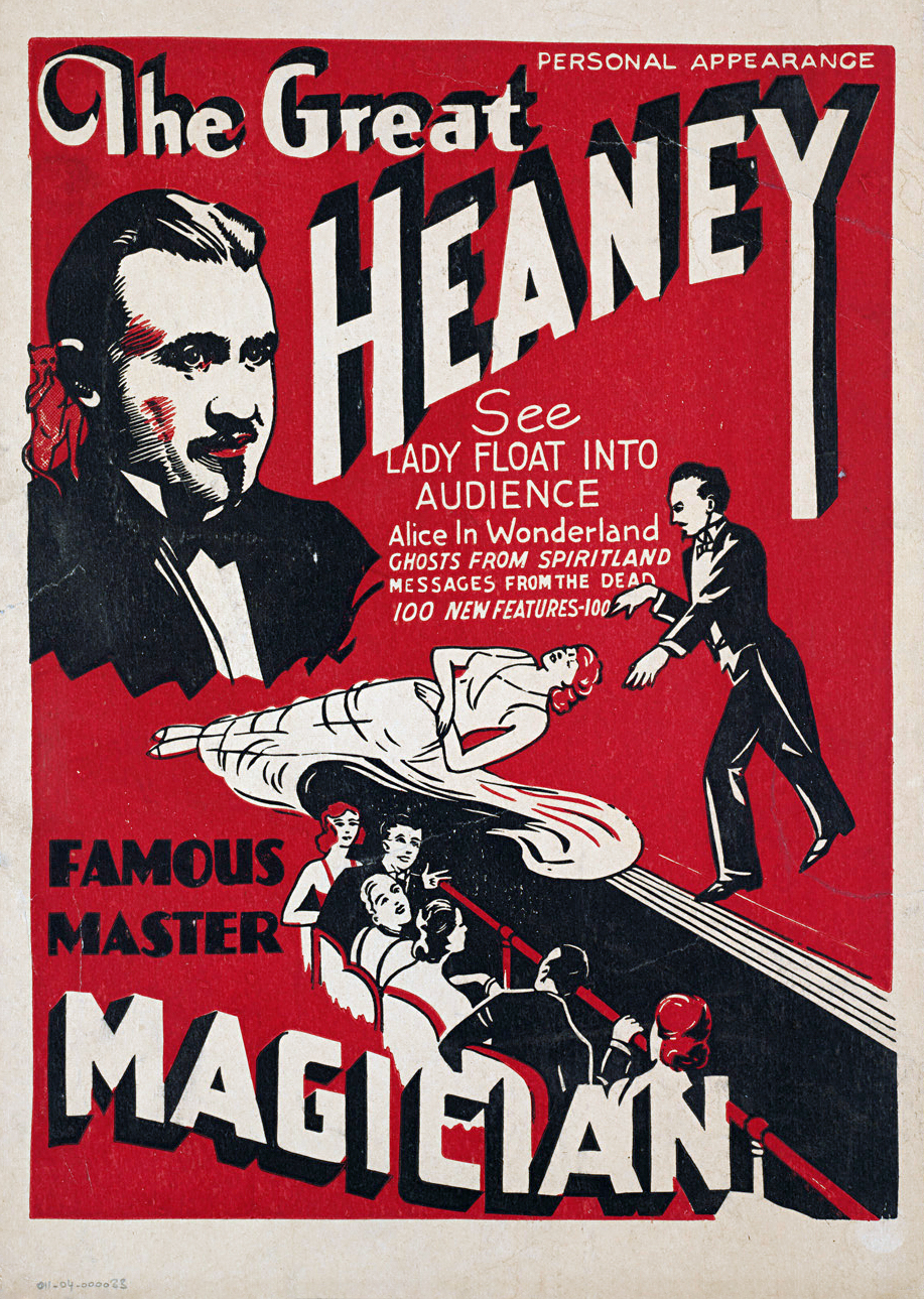 Assortment of Old Magic Posters