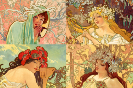 4 Seasons by A Mucha featured Image