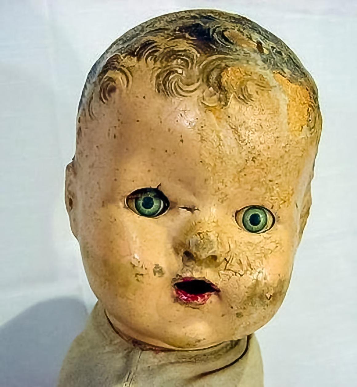 Creepy Dolls with Creepy Doll Eyes
