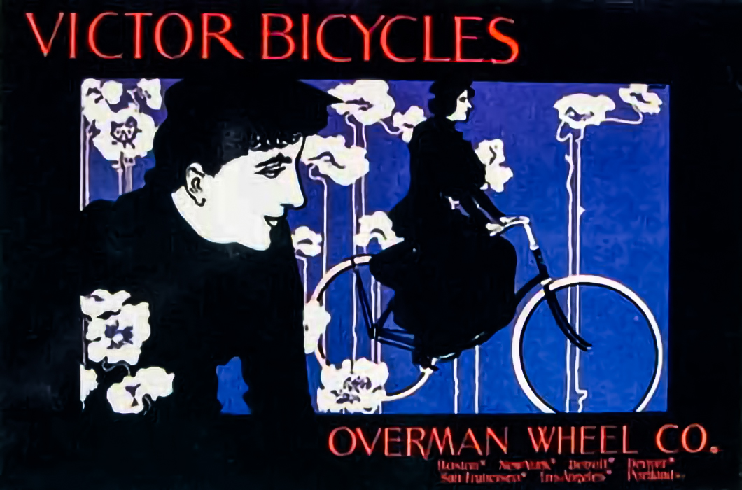 Poster Victor Bicycles