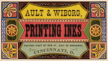 Ault and Wiborg Makers of FIne Printing and Lithographic Inks. Business Card.