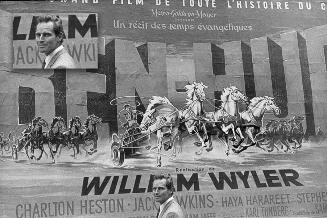 Charlton Heston Ben Hur MGM 1959