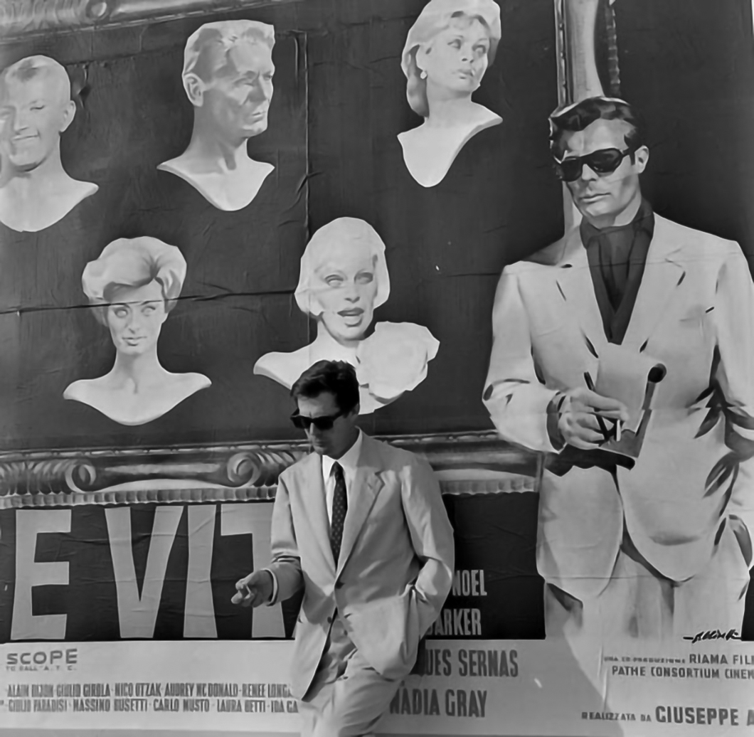 Marcello Mastroianni for La Dolce Vita 1960.