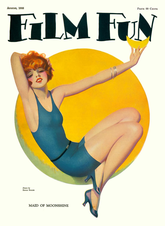 Film Fun Magazine Cover August 1926