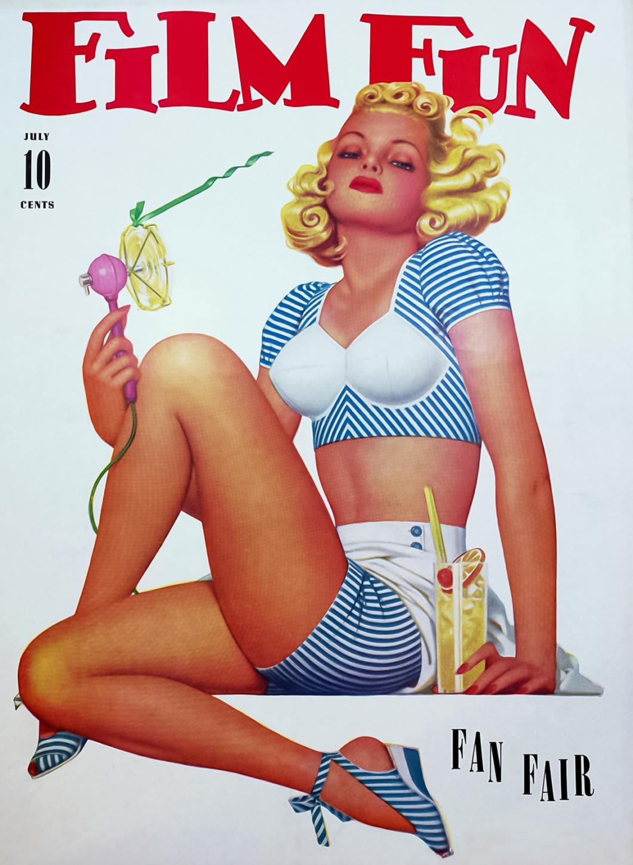 Film Fun Magazine Cover July 1941