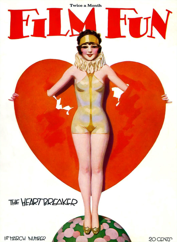 Film Fun Magazine Cover March 1928 #1