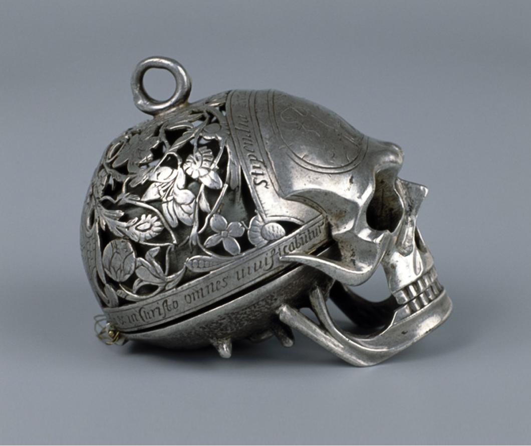 Jean Rousseau Skull Timepiece