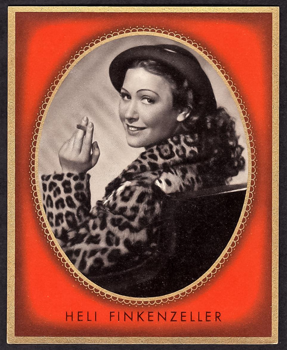 Brinkmann's Cigarette Cards   Heli-Finkenzeller   #3