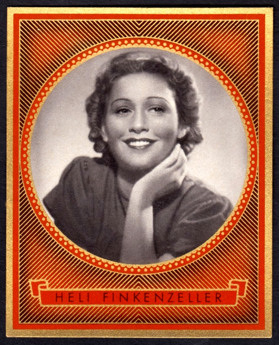 Brinkmann's Cigarette Cards   Heli-Finkenzeller   #4