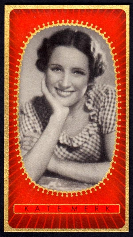 Brinkmann's Cigarette Cards   Kate Merk   #6