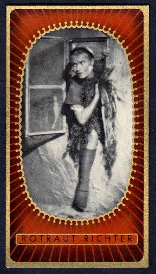 Brinkmann's Cigarette Cards   Rotraut Richter   #7