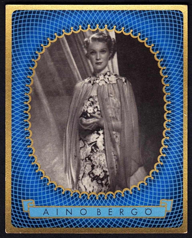 Brinkmann's Cigarette Cards   Aino Bergö   #9