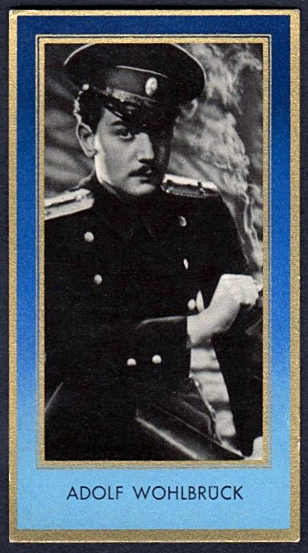 Brinkmann's Cigarette Cards   Adolf Wohlbrück   #12