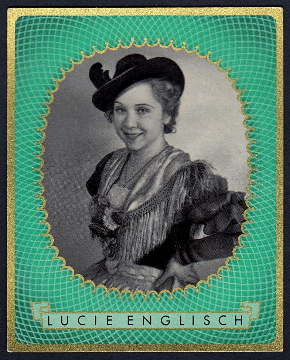 Brinkmann's Cigarette Cards   Lucie Englisch   #14