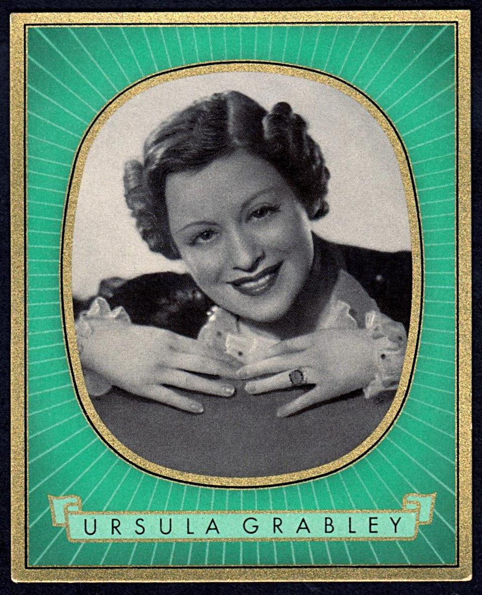 Brinkmann's Cigarette Cards   Ursula Grabley   #12