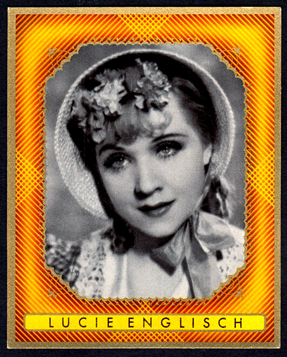 Brinkmann's Cigarette Cards   Lucie Englisch   #17
