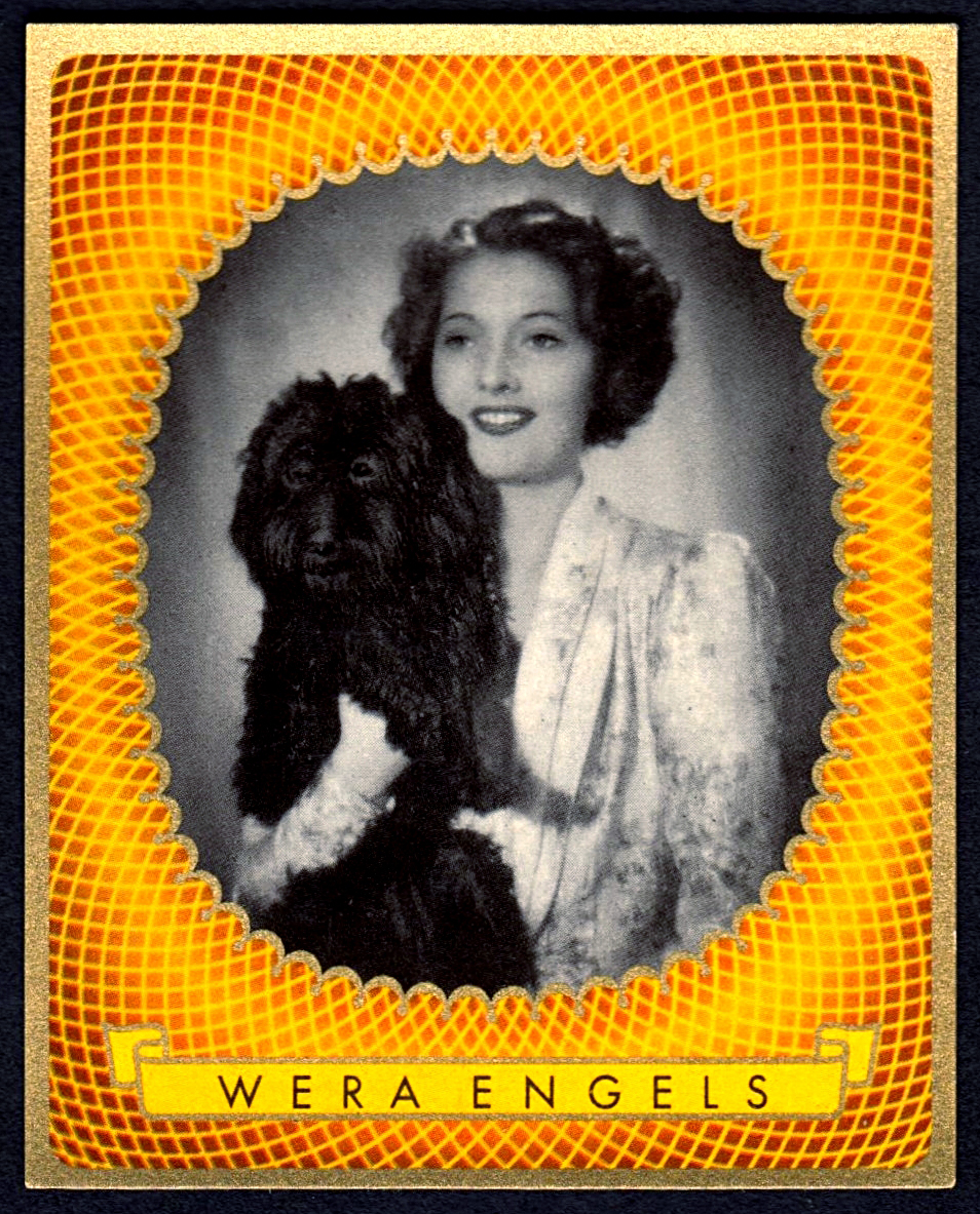 Brinkmann's Cigarette Cards   Wera Engels   #18