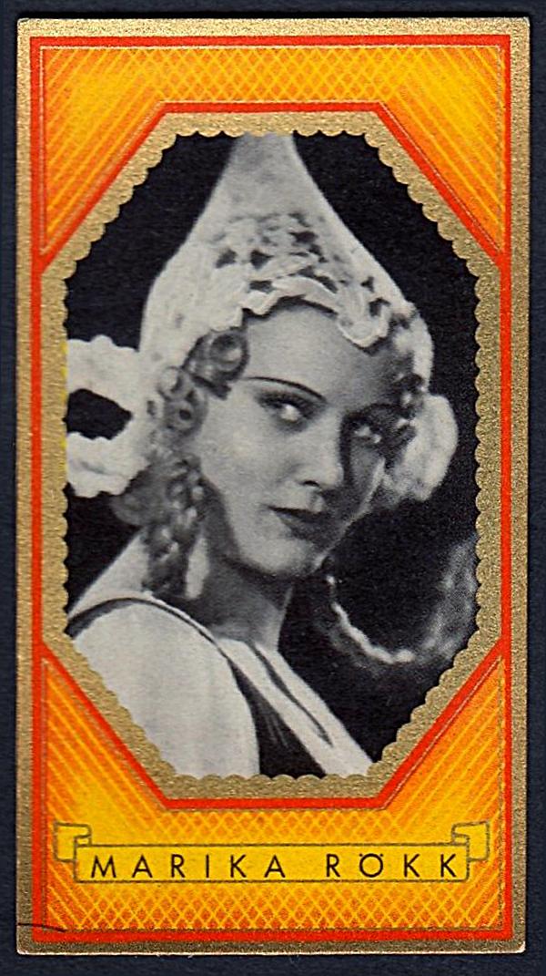 Brinkmann's Cigarette Cards   Marika Rökk   #19