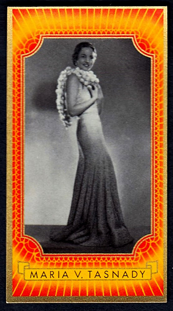 Brinkmann's Cigarette Cards   Maria von Tasnady   #20