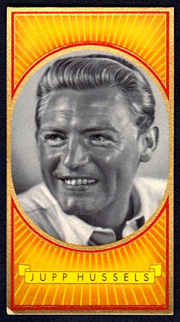 Brinkmann's Cigarette Cards   Jupp Hussels   #23