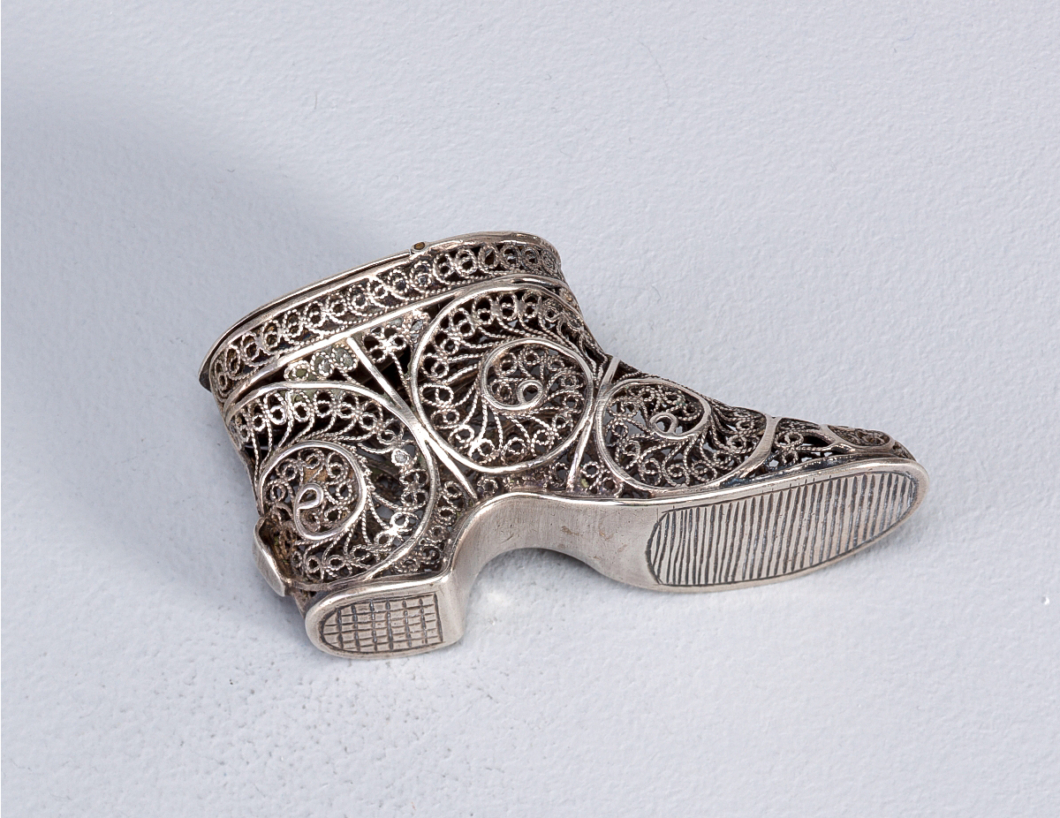 Ankle Boot | Silver | Made in Europe | Late 19th C