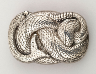 Rattlesnake in Silver | Made in Newark, New Jersey, USA