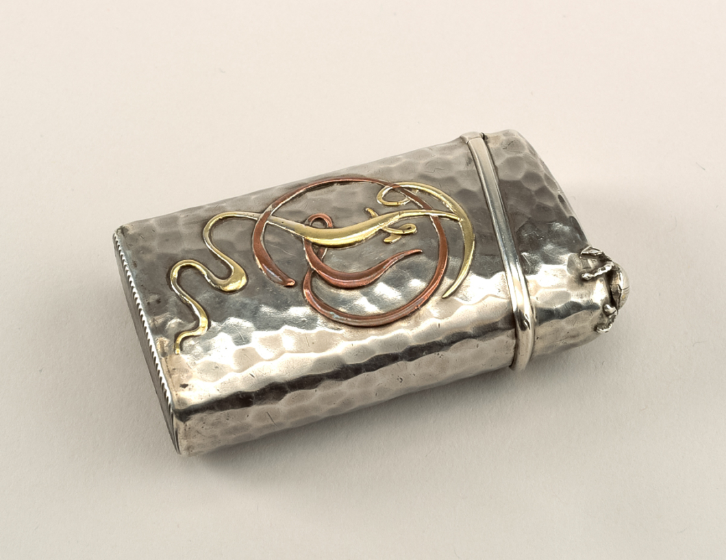 FD monogrammed | Tiffany & Company | Hammered silver, copper, brass | ca. 1880