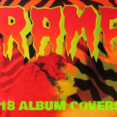 The Cramps 18 Album Covers