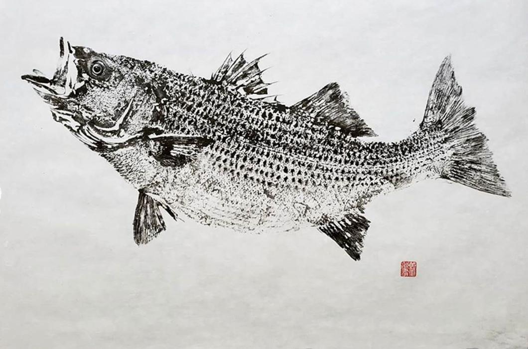 Fish Printing Gyotaku Prints