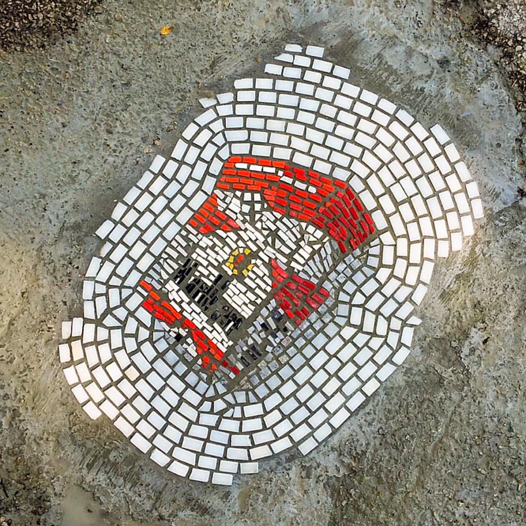 Jim Bachor Pothole Mosaics   Marlboro