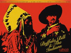 Midnight Marauder Re-imagines Robert Altman Film Posters - Sitting Bull's History Lesson
