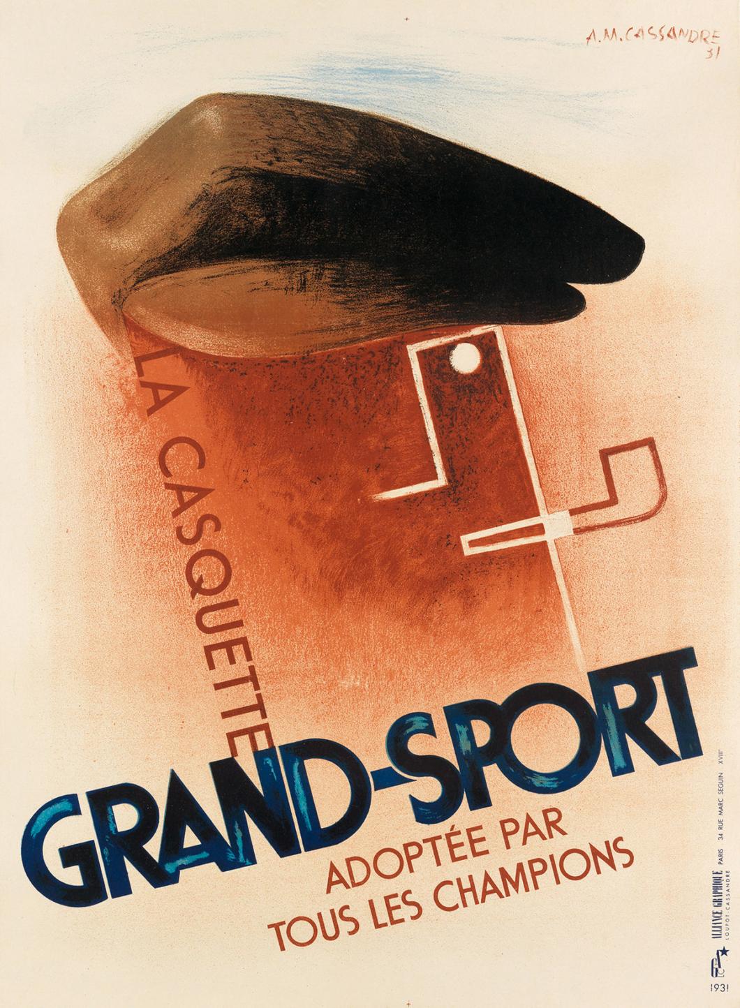 La Casquette - Grand Sport 1931