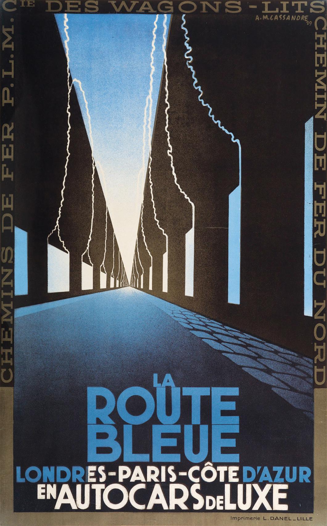 La Routr Bleue 1929