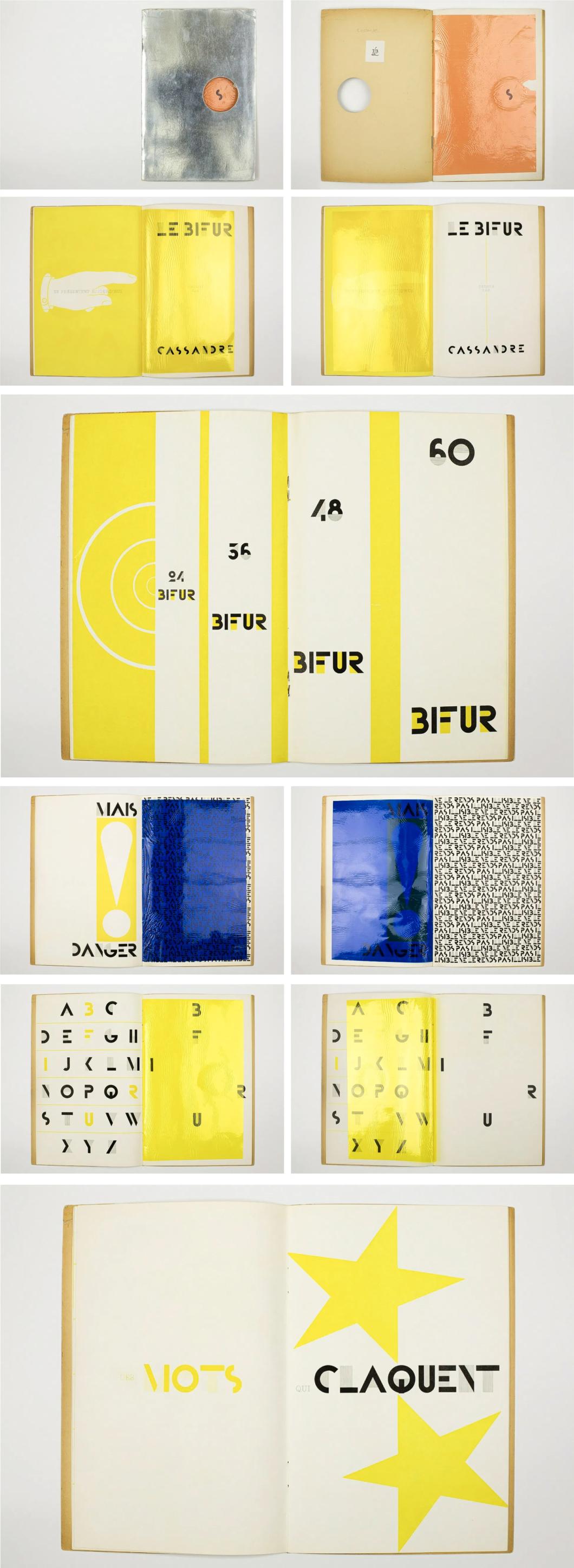 Bifur Typeface Booklet