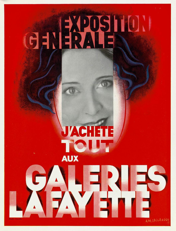 Exposition Generale - Galeries Lafayette 1928