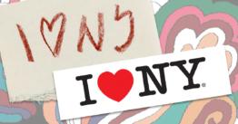 Milton Glaser 1929-2020 Original concept tissue for I Heart New York