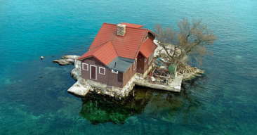 Just Room Enough Island