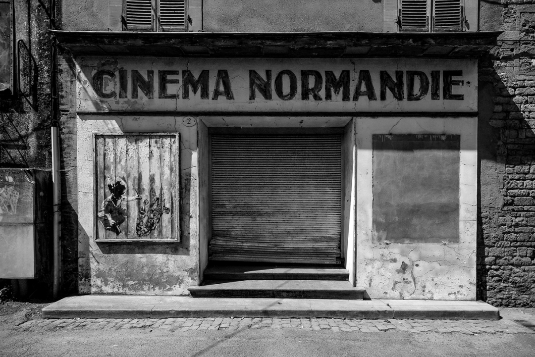 Guy Vanhulle, photo of an old cinema.