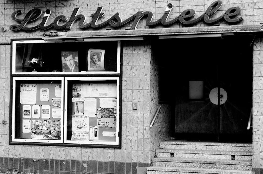 Rainer Hamburg, photo of an old cinema.